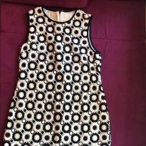 ✨ kate spade black & white shift dress